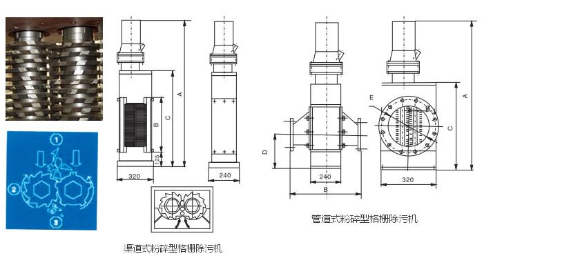 密封装置,机座,立式旋转过水转鼓栅网,自动耦合装置,溢流格栅,检修